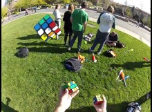 Ravi Fernando is a Rubiks Cube Genius – But This Isn't Any Ordinary Rubik's Cube Solving Video