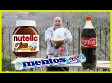 The World's Most Excited Man Breaks Coke Mentos and Nutella 'Record'