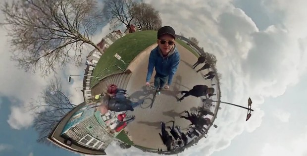 Astounding 360 Degree Video Using 6 Gopros Reveals Awesome Tiny Panoramic Planet!