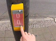 Bored Waiting at a Crosswalk? Now You Can Play Video Games With People on the Other Side!