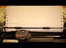 Eye of The Tiger – Played On a Dot-Matrix Printer!