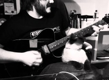 Guy Tries to Shred Guitar, Cat Has Other Plans